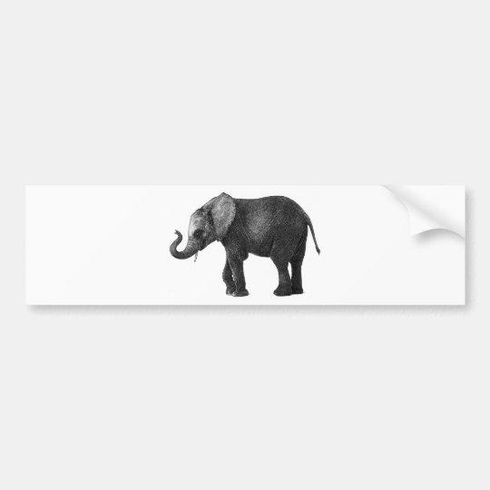 Elephant.jpg Bumper Sticker