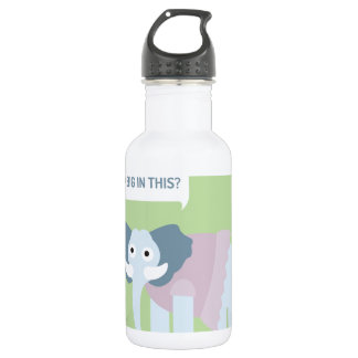 ELEPHANT.jpg Stainless Steel Water Bottle