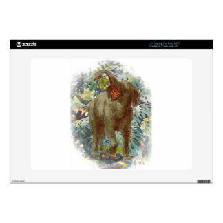 "Elephant Jungle 15"" Laptop Skin"