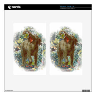Elephant Jungle Decals For Kindle Fire