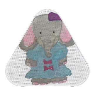 Elephant Jungle Friends Baby Animal Water Color Speaker