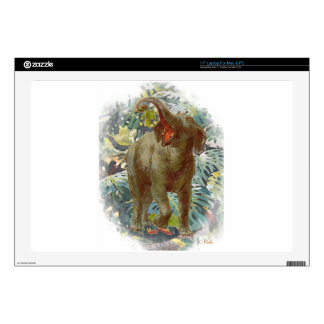 Elephant Jungle Laptop Skin