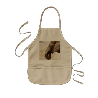 Elephant Kids' Apron