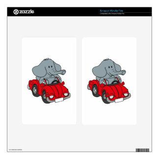 Elephant Kindle Fire Decal