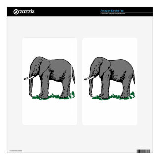 Elephant Kindle Fire Skin