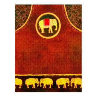 Elephant Kingdom Postcard