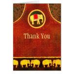 Elephant Kingdom Thank You Card