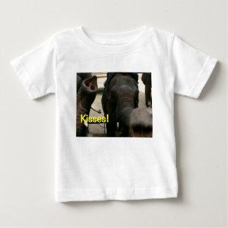 Elephant Kisses! Asian Elephant in Thailand Baby T-Shirt