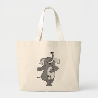 Elephant Large Tote Bag