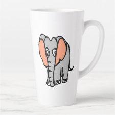 Elephant Latte Mug