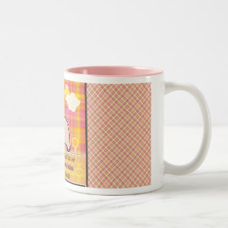 Elephant Lemonade Two-Tone Coffee Mug