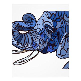 Elephant Letterhead