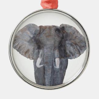 """""""Elephant & Lionesses"""" Premium Round Ornament"""