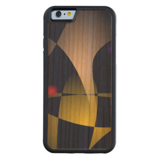Elephant Looking Straight Ahead Carved Cherry iPhone 6 Bumper Case