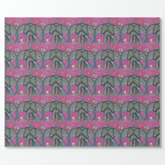 Elephant Love Gift Wrapping Paper