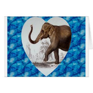 Elephant Love Greeting Card