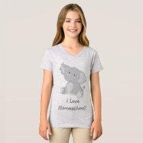 Elephant Love Homeschool T-Shirt