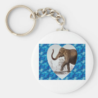 Elephant Love Keychain