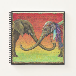 Elephant Love Notebook: Xenophile Notebook