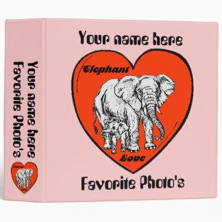Elephant Love photo album Binder