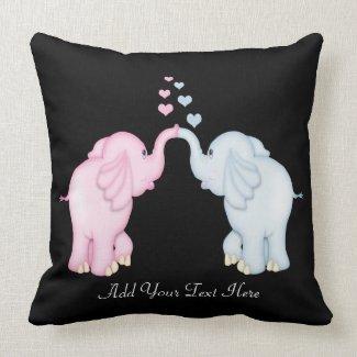 Elephant Love Pillows