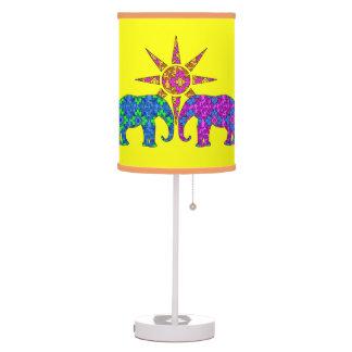 Elephant Love Table Lamp