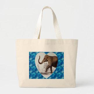 Elephant Love Tote Bags