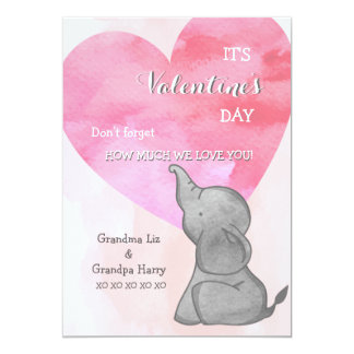 Elephant Love Valentine's Day Card