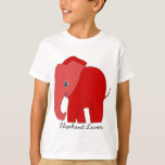Elephant Lover T-Shirt