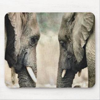 Elephant Lovers Art Gifts Mousepad