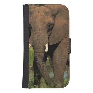 Elephant (Loxodonta Africana), Hwange National Galaxy S4 Wallet Case
