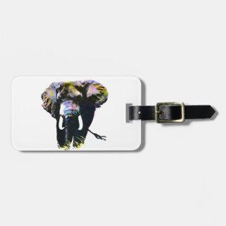Elephant Tag For Luggage
