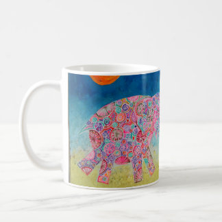 ELEPHANT/MAGIC AND SUN COFFEE MUG
