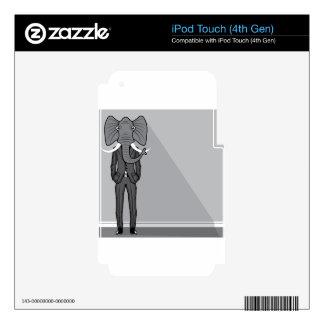 Elephant Man iPod Touch 4G Skin