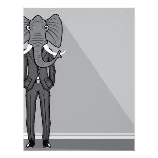 Elephant Man Letterhead