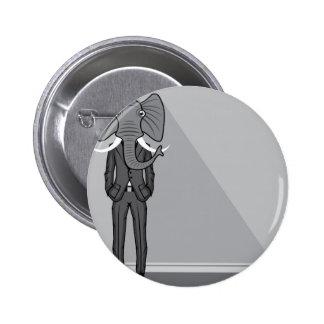 Elephant Man Pinback Button
