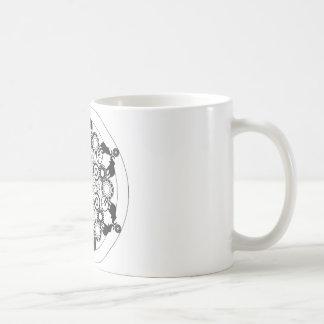 Elephant Mandala Classic White Coffee Mug
