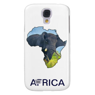 Elephant Map Samsung Galaxy S4 Cover