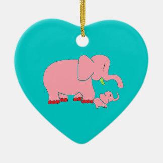 Elephant Mom Ornament