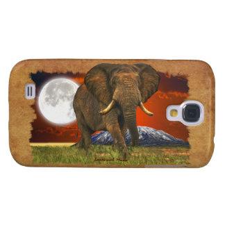 Elephant & Moon II Animal Cell Phone Case HTC Vivid Cover