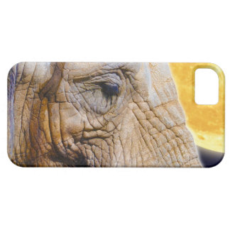 Elephant & Moon iPhone 5 Cell Phone Case iPhone 5 Case