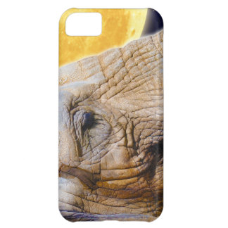 Elephant & Moon iPhone 5 Cell Phone Case iPhone 5C Cover