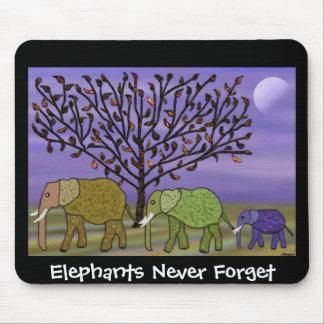 Elephant Moon Mousepad