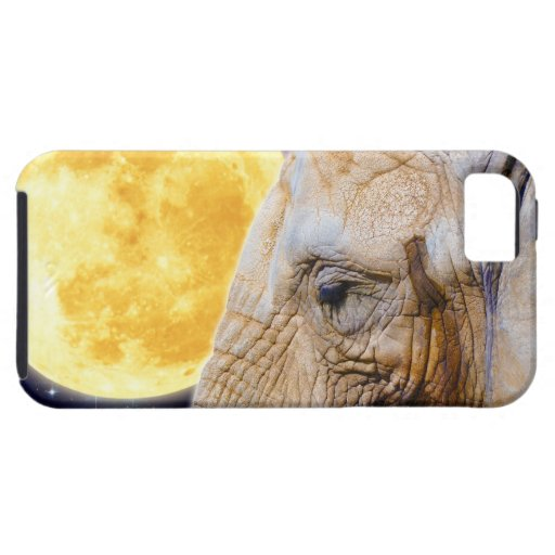 Elephant & Moon Mystical iPhone Case iPhone 5 Case