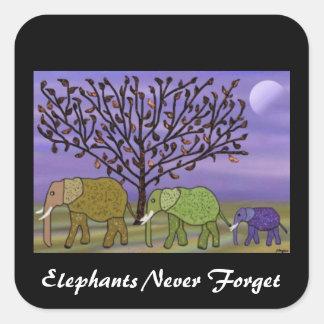 Elephant Moon Stickers