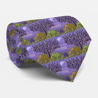Elephant Moon Tie