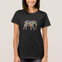 Elephant Mosaic T-Shirt
