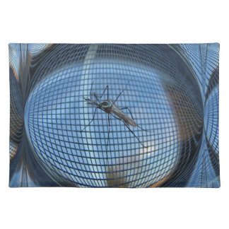 Elephant Mosquito 2 ~ Placemat Cloth Place Mat
