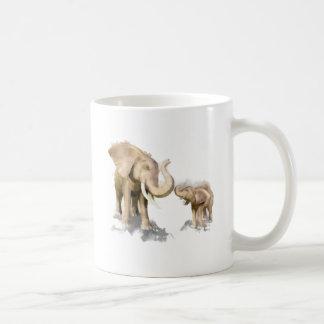 Elephant Mother & Child 2 Coffee Mug