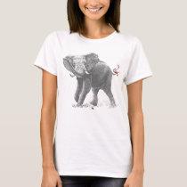 ELEPHANT & MOUSE (GIRL) T-Shirt